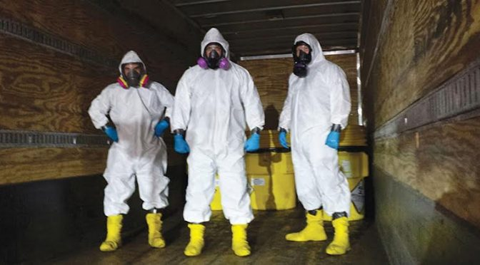 Biohazard Cleaning Services Arizona Metro: Meth Lab, Meth House, And Tear Gas Clean Up